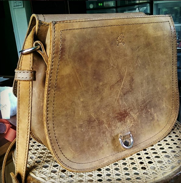 Large Hobo in Tobacco Saddleback Leather
